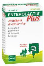 ENTEROLACTIS PLUS 10 BUSTINE