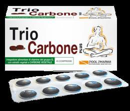 TRIO CARBONE Plus Integratore anti-gonfiore  40 compresse